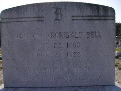 Ada <I>Blount</I> Bell