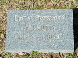 "Edith Stanley ""Pinkie"" <I>Prescott</I> Allnutt"