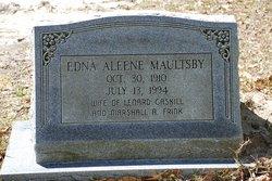 Edna Alene <I>Maultsby</I> Frink