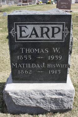 Matilda Jennie <I>Price</I> Earp