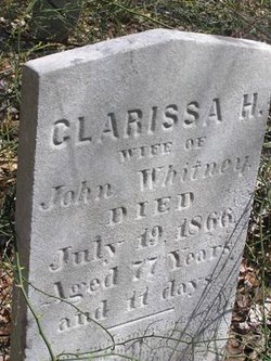 Clarissa H. <I>Brush</I> Whitney