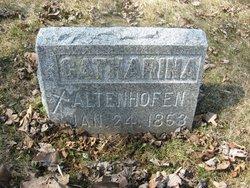 Catharina <I>Bayer</I> Altenhofen