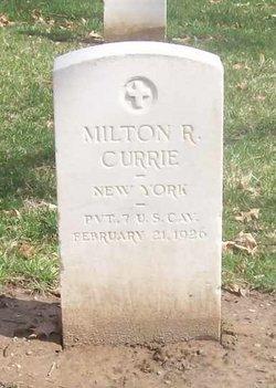 Milton R Currie