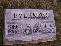 Ruth Lee <I>Hill</I> Everman