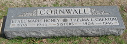 Ethel Marie <I>Cornwall</I> Honey