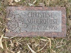 Christine Soderquist
