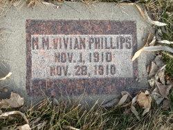 Mary M Vivian Phillips