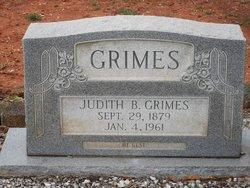 Judith B. <I>McLendon</I> Grimes
