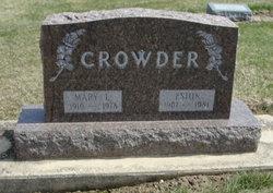Mary E. <I>Massey</I> Crowder