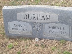 "Anna Rebecca ""Annie"" <I>Bailey</I> Durham"