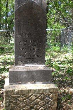 """Ezekiel Moses """"Zeke"""" Rhea"""