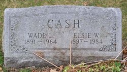 Elsie <I>Zanzig</I> Cash
