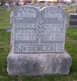 Philippine <I>Weber</I> Koehler