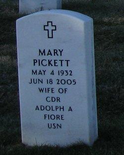 Mary <I>Pickett</I> Fiore
