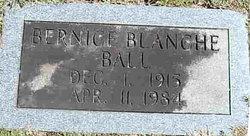 Bernice Blanche Ball