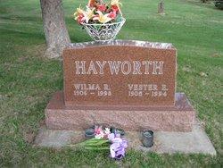 Wilma Ruth <I>Dicus</I> Hayworth