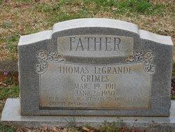 Thomas LeGrande Grimes