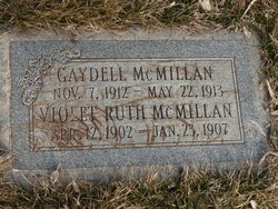 Violet Ruth Mcmillan