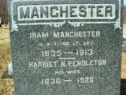 Harriet Newell <I>Pendleton</I> Manchester
