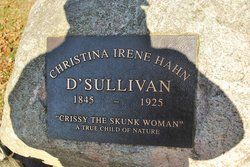 "Christina Irene ""The Skunk Lady"" <I>Hand</I> Sullivan"