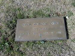 Cecil Roscoe Cone