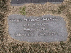 PFC Oscar William Cornwall