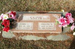 Pauline <I>Oveson</I> Snow