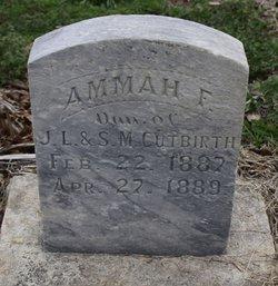 Ammah Faith Cutbirth