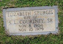 """Elizabeth """"Lib"""" <I>Sturgis</I> Courtney"""