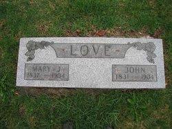 Mary Jane <I>Marshall</I> Love