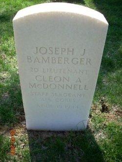 2LT Joseph J Bamberger