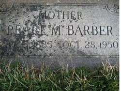 Laura Pearl <I>Mayfield</I> Barber