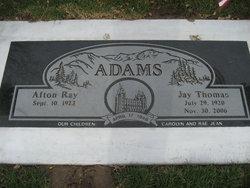 Afton <I>Ray</I> Adams