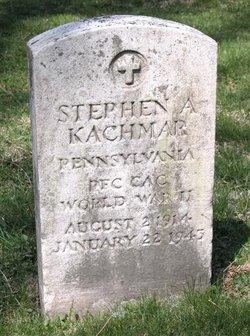 PFC Stephen A. Kachmar