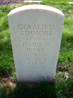 1LT Gerald U Ashmore
