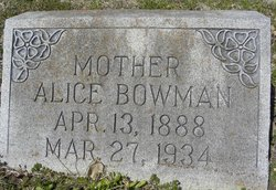 Alice <I>Russell</I> Bowman