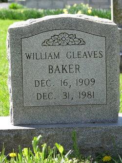William Gleaves Baker