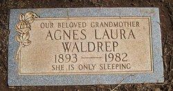 Agnes Laura <I>Lamb</I> Waldrep