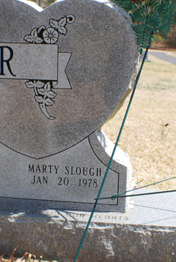 Marty <I>Slough</I> Baker
