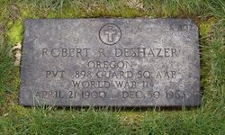 Robert Raymond Deshazer