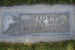 Milton Thomas Brown