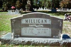 Joanne <I>Martin</I> Milligan