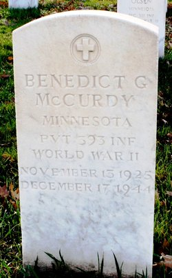 Benedict G McCurdy