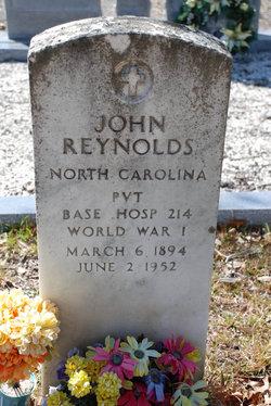 Pvt John Duren Reynolds