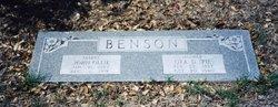 "Ora Dee ""Pie"" <I>Daugherty</I> Benson"