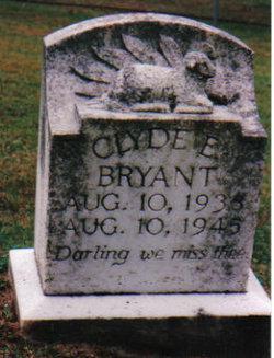 Clyde E Bryant