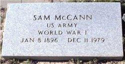 """Sam """"Shorty"""" McCann"""