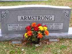 Maxine Martha <I>Jones</I> Armstrong