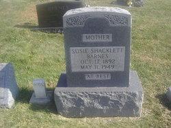 Susie B. <I>Shacklett</I> Barnes