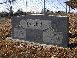 Myrtle <I>Kilpatrick</I> Baker
